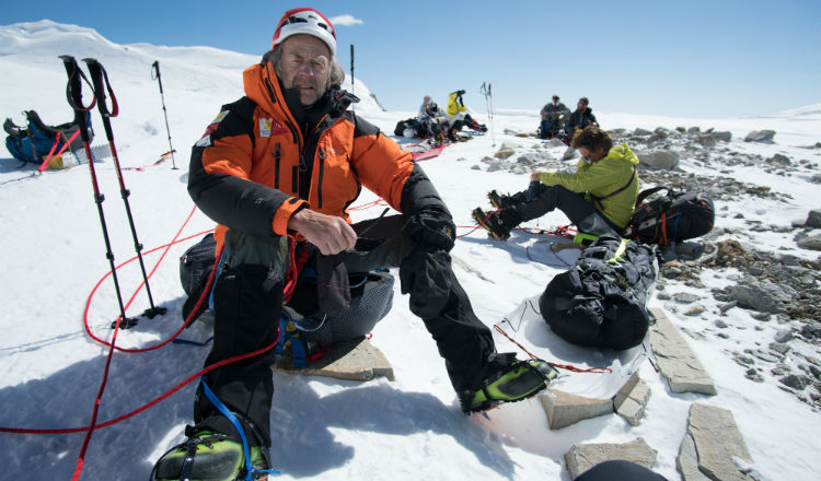 Ranulph Fiennes Conquers The Eiger!
