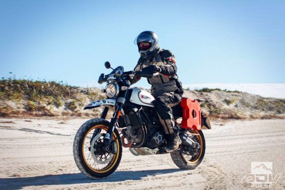 Circling The Globe By Motorcycle