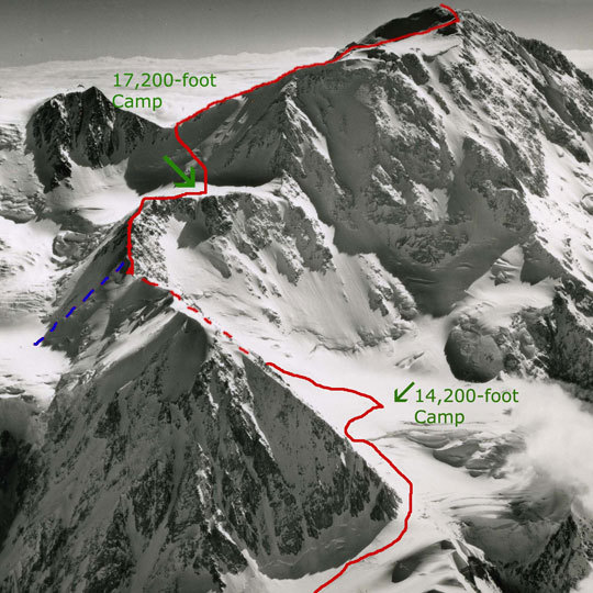 Climber Rescued on Denali