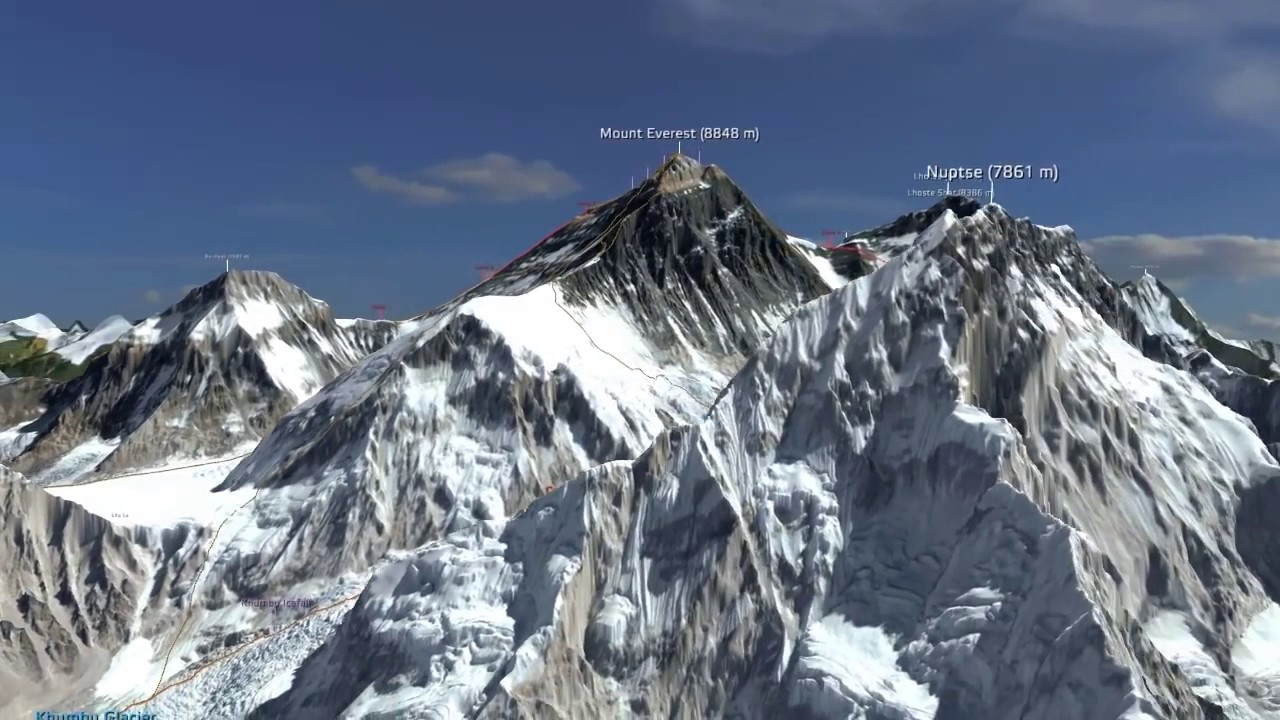 Climbing Everest: Animated Video Shows the Way