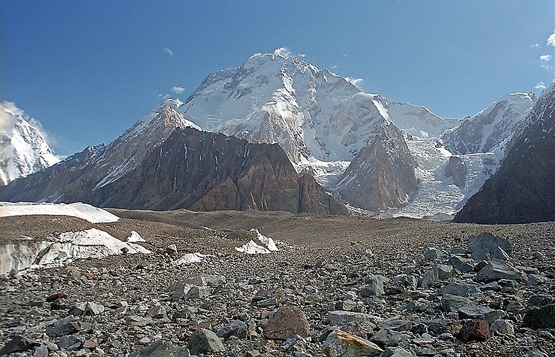ExWeb has the latest news from the range, and is reporting that the first team on Broad Peak has reached Camp 3, and are now deciding if they should continue up or return to BC