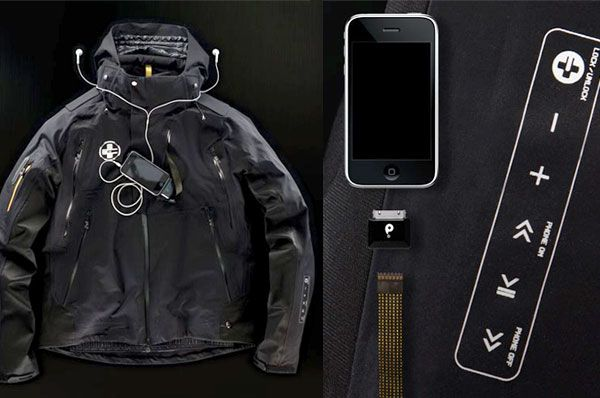 New Ski Jacket Includes iPod Controls