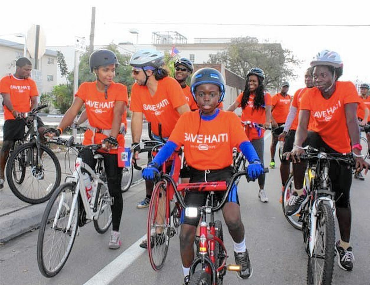 Cyclist Sets Out To Ride For Haiti