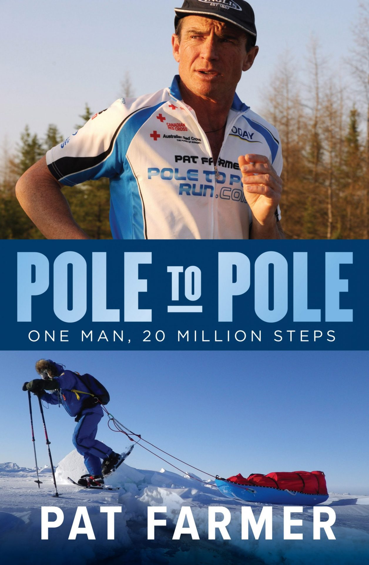 Ultra-athlete Running From North to South Pole