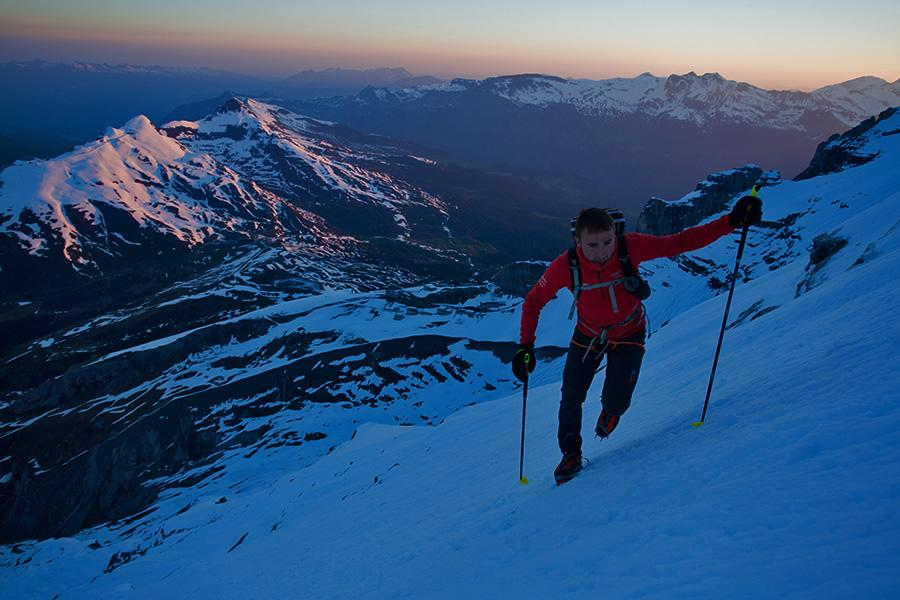 Climbing The Mönch With Ueli Steck