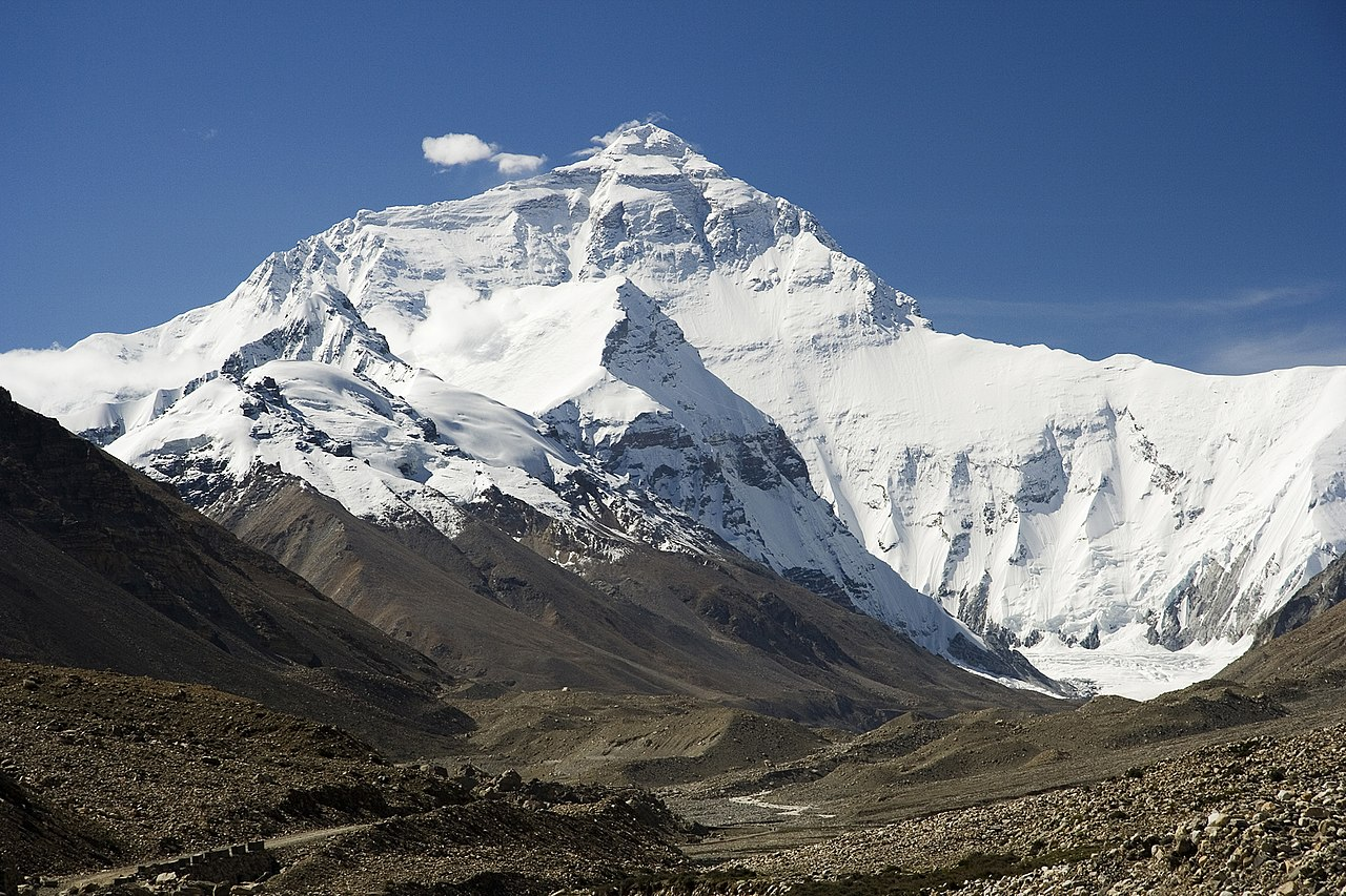 1280px Everest North Face toward Base Camp Tibet Luca Galuzzi 2006