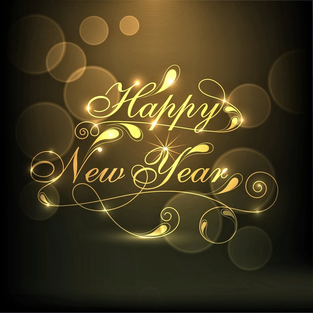 happy new year sms message card