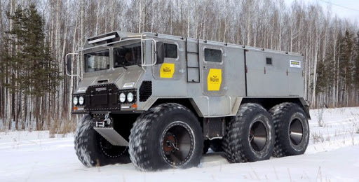 Vehicle to Drive to the North Pole