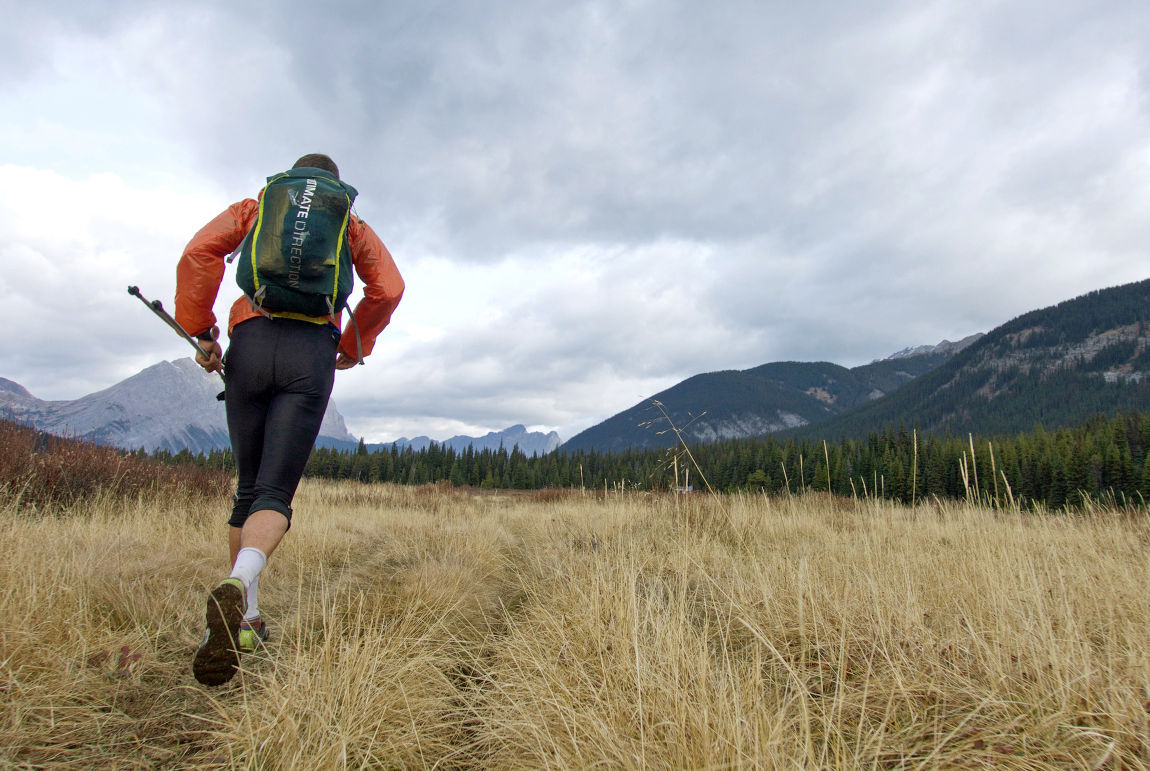Along the way, they face just about every mountain challenge imaginable, including thick brush, icy rivers, snow covered summits, and dizzying climbs and descents