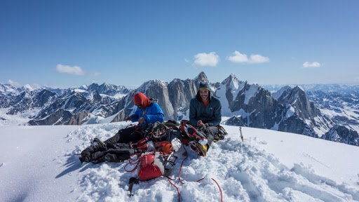 Honnold and Ozturk Abandon Attempt on Mt. Dickey in Alaska
