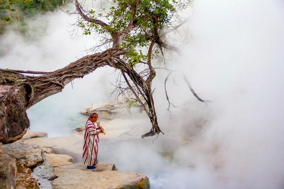 Boiling River of the Amazon