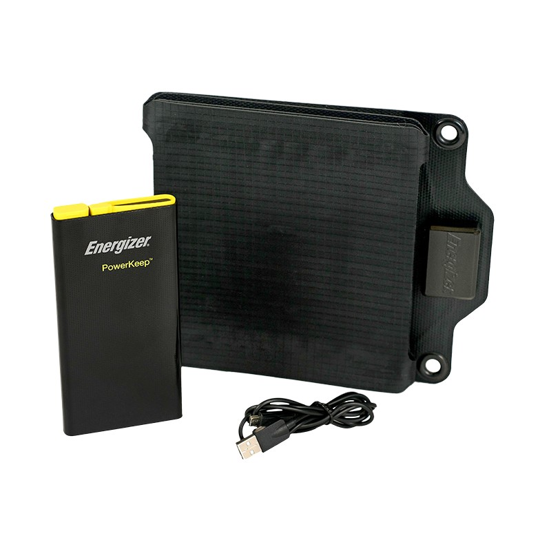 Energizer PowerKeep 36 Solar Charger and Battery Pack