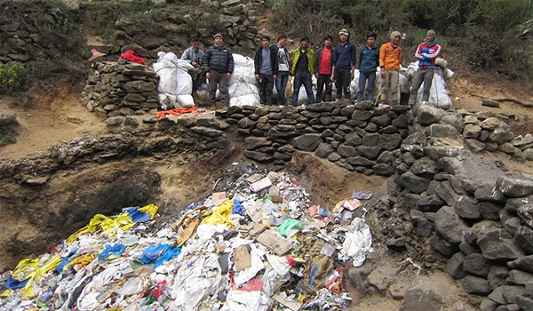 Trash Removed From Everest