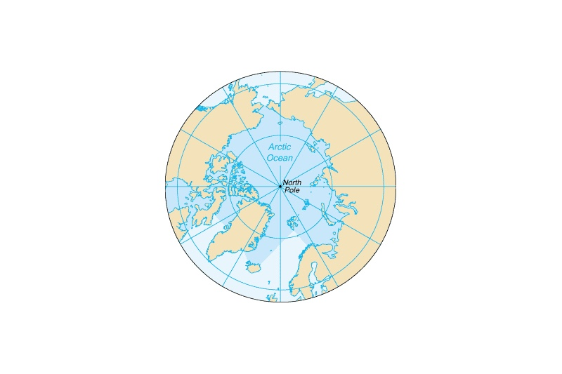 north pole arctic ocean