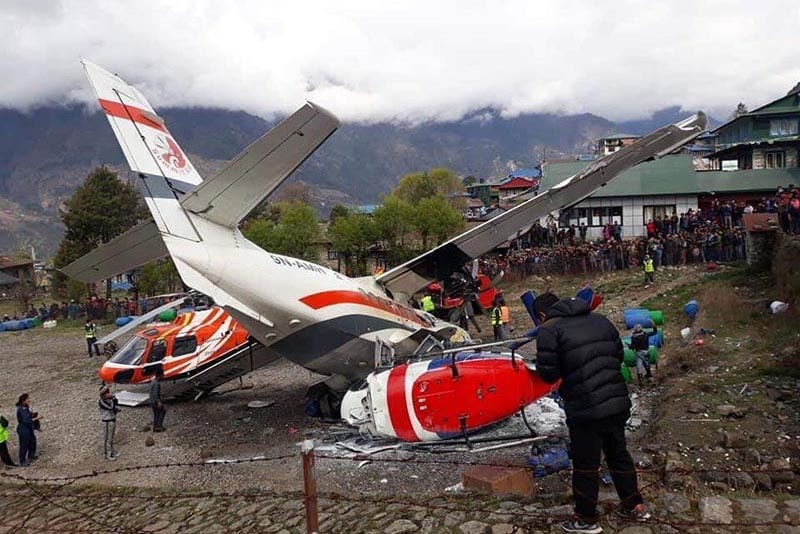 lukla airport crash