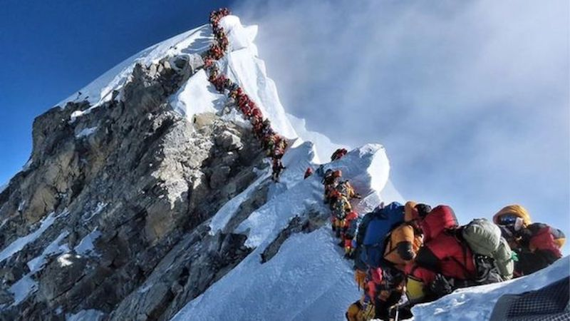 everest has Gotten Safer Despite Being More Crowded
