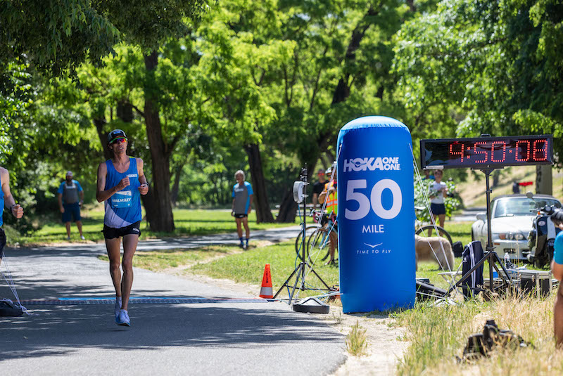 New 50-Mile Speed Record
