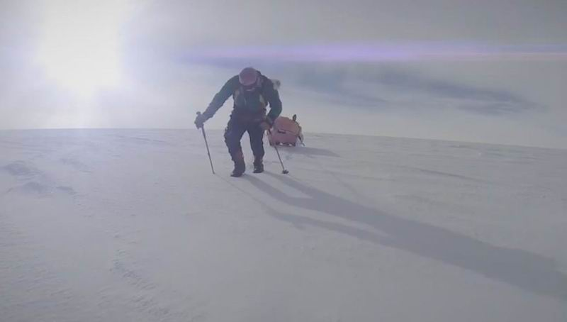 Longest Solo Antarctic Expedition