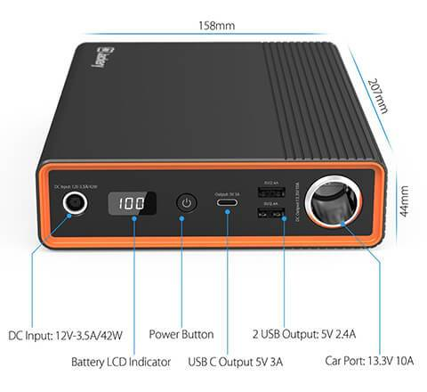Jackery Explorer 200Wh Outdoor Portable Power Station 1