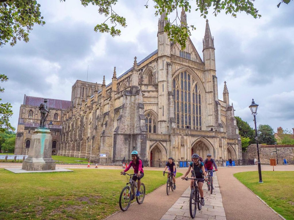 King Alfreds Way Winchester Cathedral