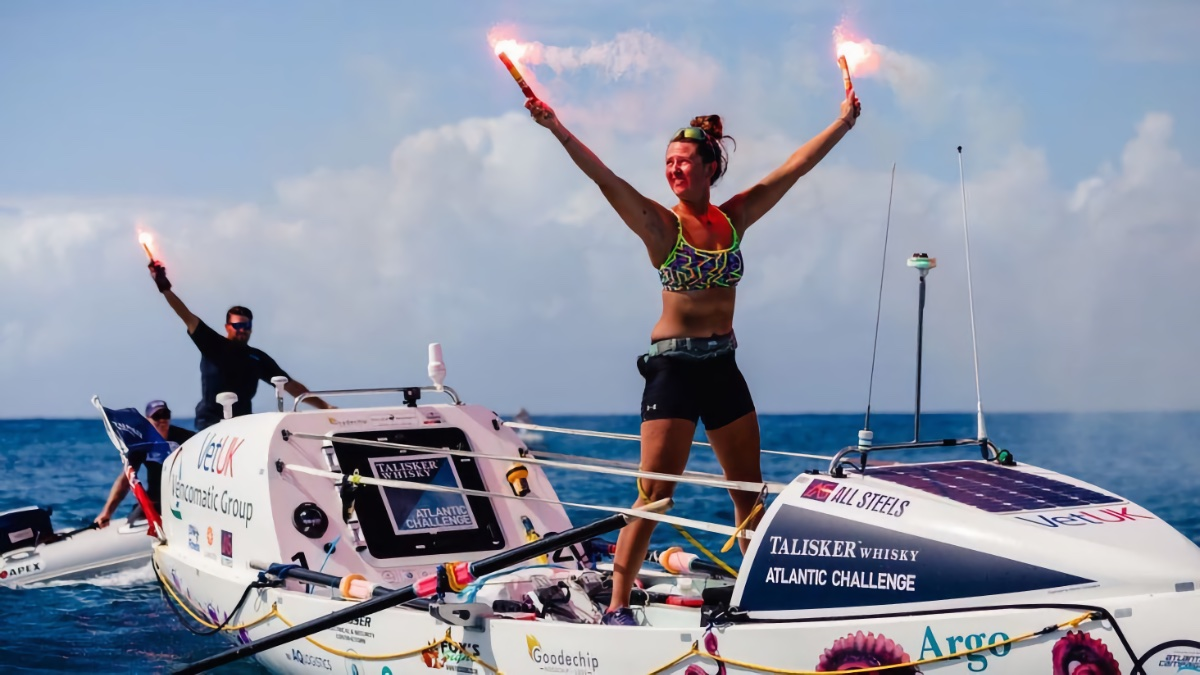 21-Year Old Briton Becomes Youngest Woman to Row the Atlantic | The Adventure Blog