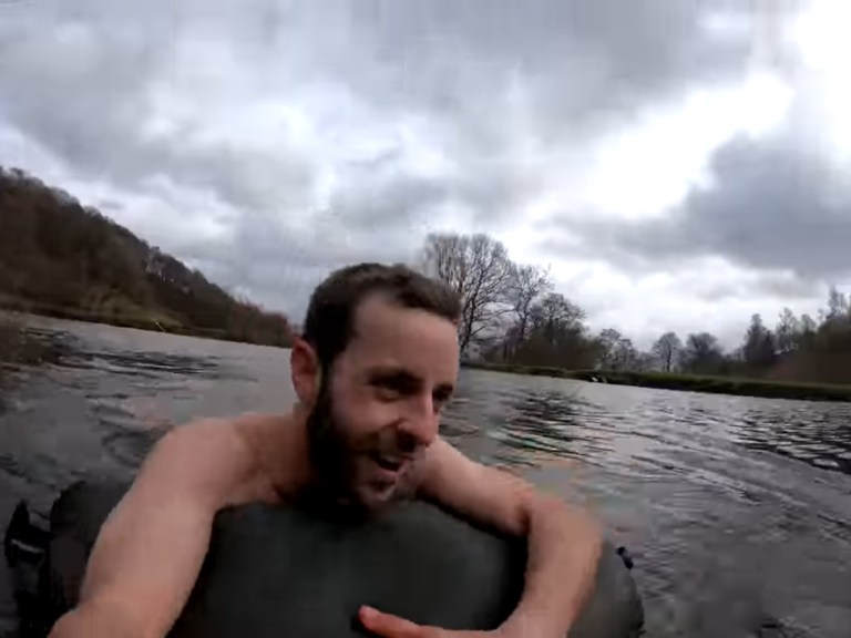 GeoWizard and the Mission Across Wales GeoWizard Swimming